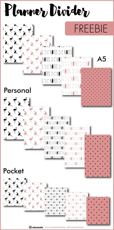 Planner Divider Printables