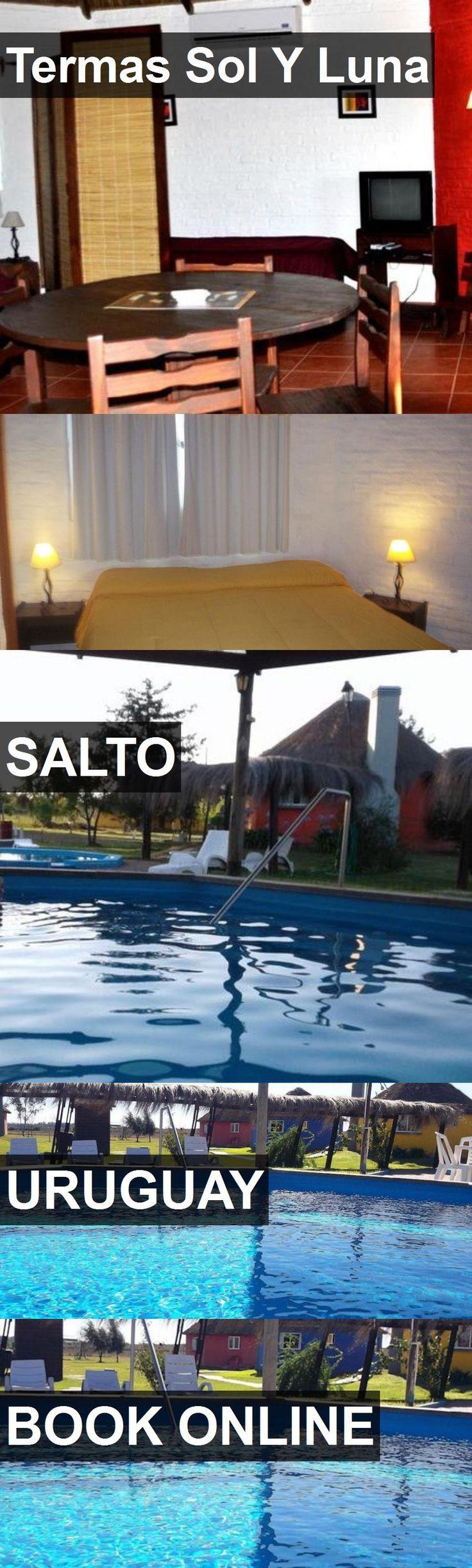 Hotel Termas Sol Y Luna in Salto, Uruguay. For more information, photos, reviews and best prices please follow the link. #Uruguay #Salto #travel #vacation #hotel