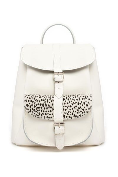 """""""Wild at Heart"""" Leather backpack by Grafea"""