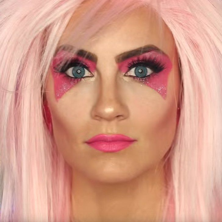 Jem And The Holograms Makeup Tutorial | Costumes 80 S And 80s Party