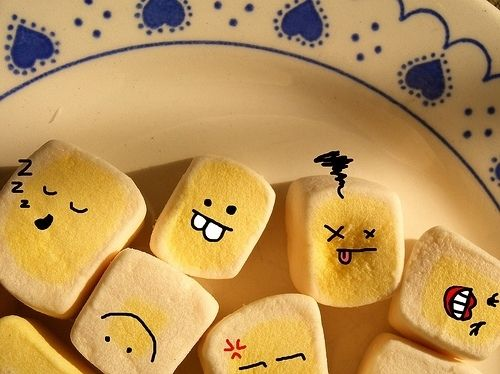Cute Food With Faces