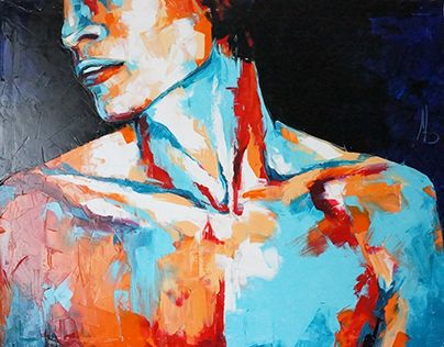 """Тело мужское 2 / Male body 2. 100x80"" http://on.be.net/1LUHy4u"