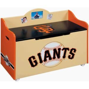 San Francisco Giants Toy Box and Storage Bench