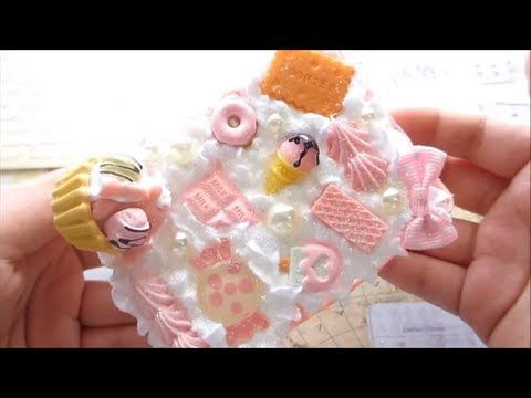 Sweets Deco-Den Tutorial! - YouTube( i like the dripping in this one)