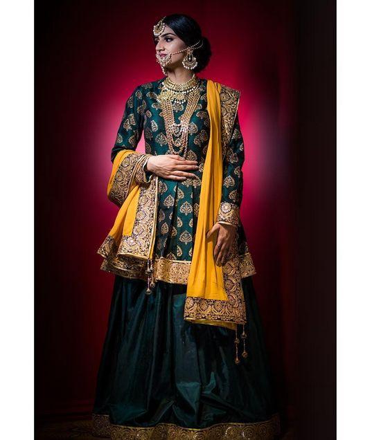 Beautiful Green Sharara
