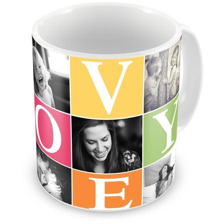 Caneca Porcelana Personalizada Jogos Do Amor Branca Com 7 Fotos - ArtePress | Brindes Personalizados, Canecas, Copos, Xícaras