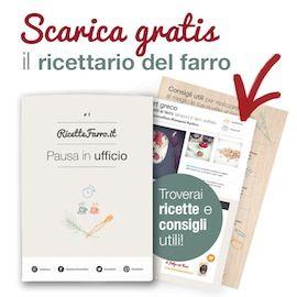 Riocettario pdf su: http://www.ricettefarro.it/i-ricettari-del-farro?utm_source=sidebar_medium=banner_campaign=Ricettari