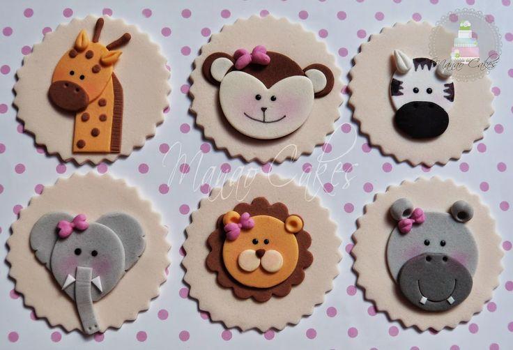 Manao Cakes: Topp de azúcar para decorar cupcakes