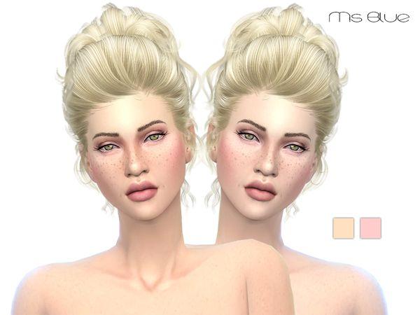 Skintone Set V1 by Ms Blue at TSR via Sims 4 Updates