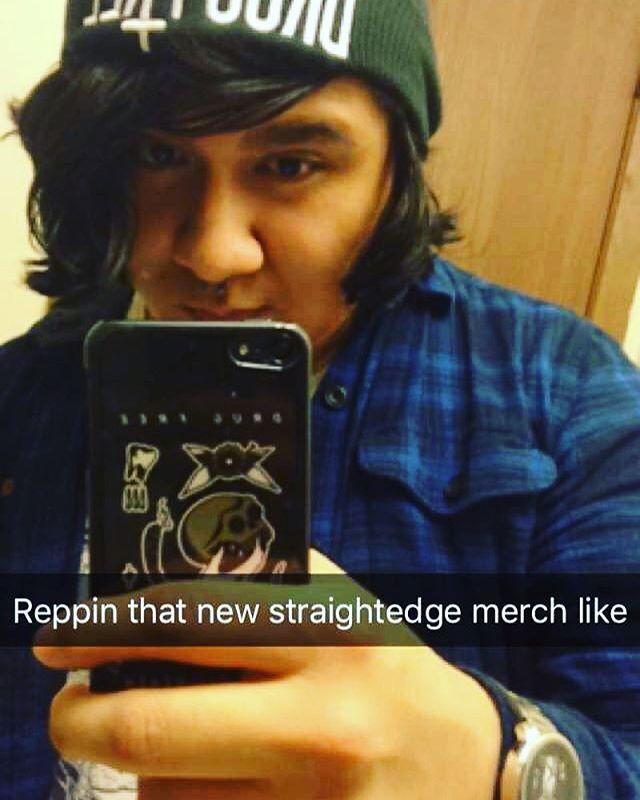 Beanie, watch, and iPod case. Thanks @straightedgeworldwide #straightedge #noshame