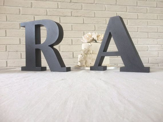 13 best industrial metal decorative letters images on pinterest