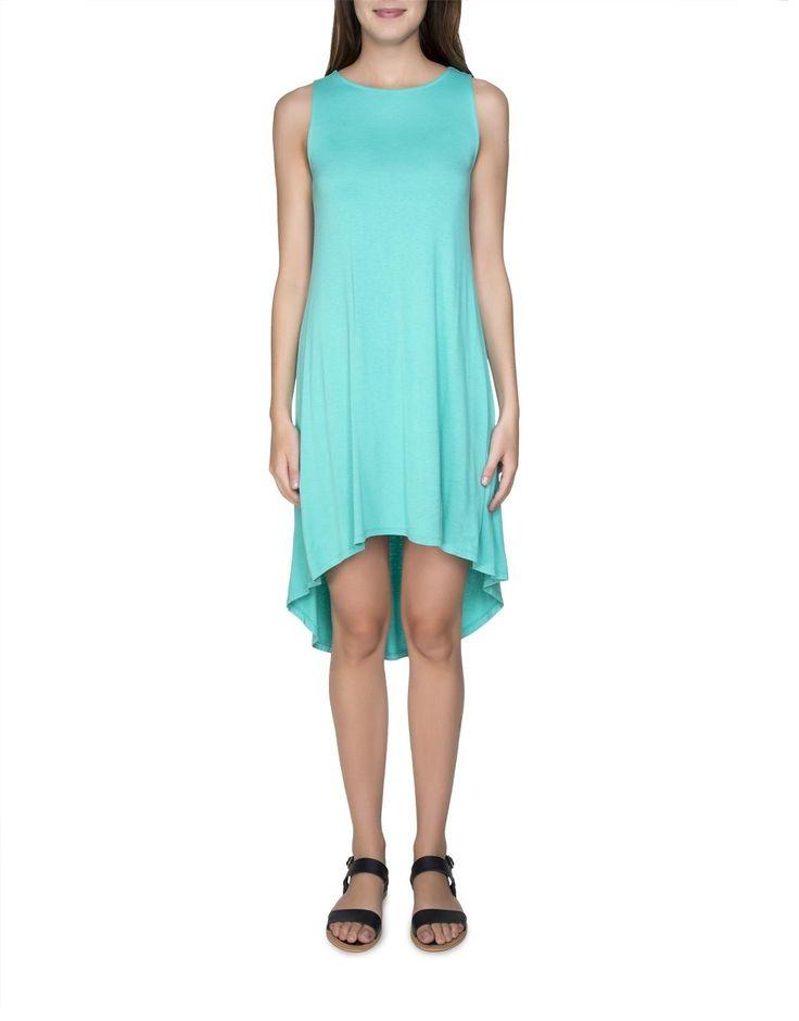 Hi-Low Maxi Dress