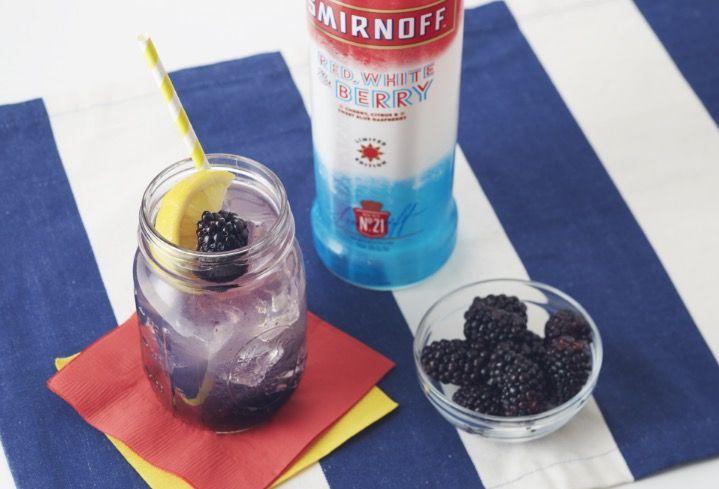 Smirnoff Red, White & Berry