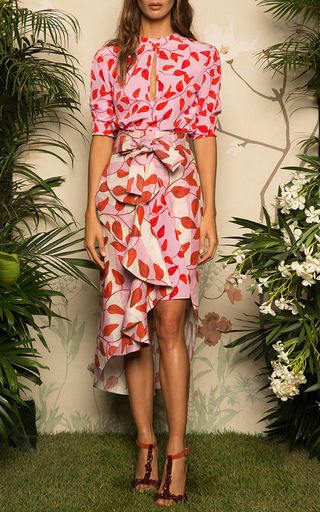 Libertad Keyhole Sheath Dress by JOHANNA ORTIZ for Preorder on Moda Operandi