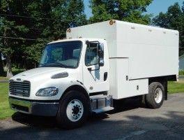 Freightliner M2 106 14 Arbortech Chip Box Freightliner Work Truck Ford Transit