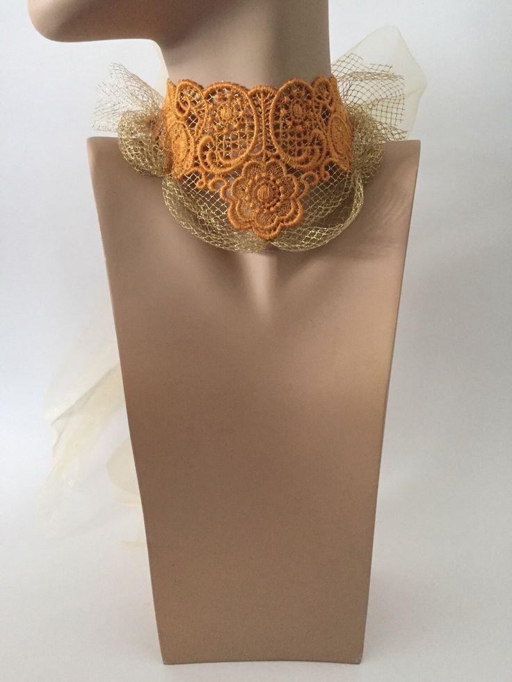 Un preferito personale dal mio negozio Etsy https://www.etsy.com/it/listing/515373943/collare-pizzo-gold
