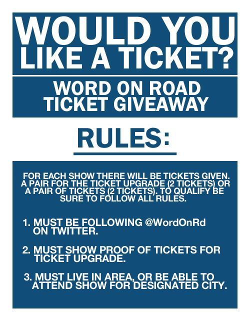 Contest: Win Tickets To Drake's 'Would You Like A Tour?'