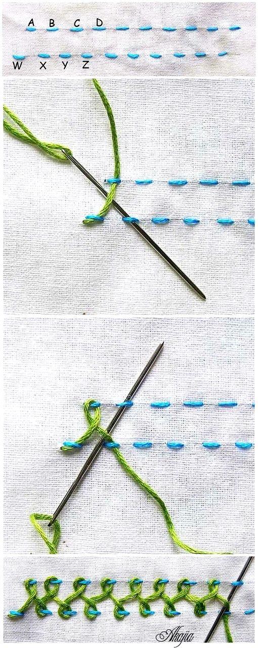 Ziemlich Französisch Knoten Stickmuster Ideen - Schal-Strickende ...