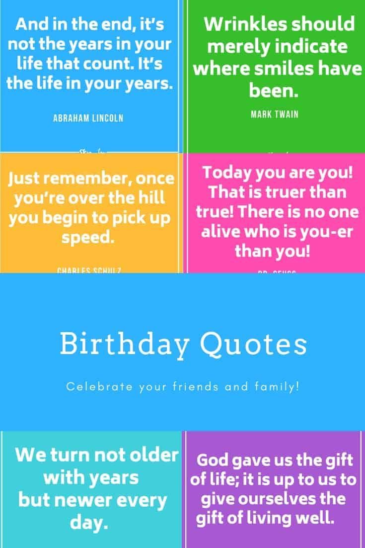 30 Birthday Quotes 30th Birthday Quotes Birthday Quotes For Him Quotes For Kids
