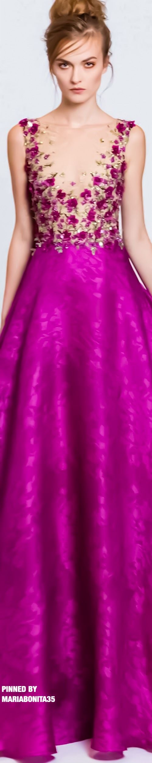 Mejores 15 imágenes de vestidos bordados en Pinterest   Vestido ...