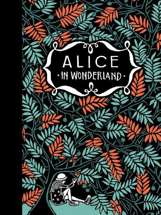 'Alice in Wonderland', prachtig geïllustreerd door Floor Rieder - Theaters Tilburg en Bibliotheek Tilburg Centrum werken samen rondom Alice in Wonderland.