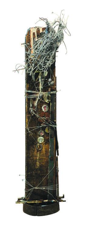 Cipriano Souza,  Tour por São Paulo 100x30x25 cm, 2005 Técnica mista