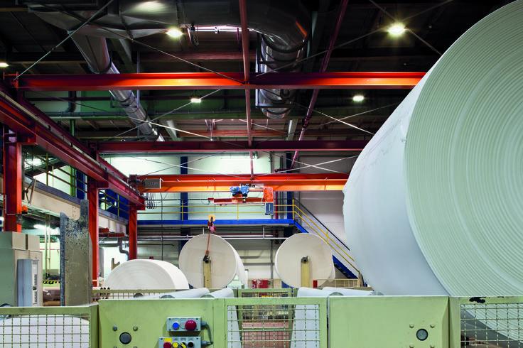WEPA Papierfabrik P. Krengel GmbH & Co. KG, Arnsberg (Germany) WEPA Papierfabrik P. Krengel GmbH & Co. KG, Arnsberg (Deutschland)  Product: Mirona LED Produkt: Mirona LED