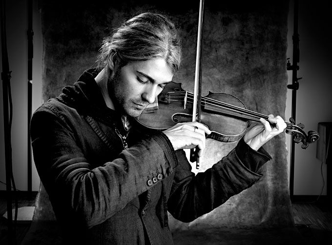 David Garrett - because if I could play the violin I would want to play like him (and he's kinda easy on the eyes)