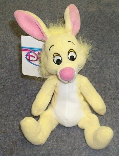 Retired Disney 8 Plush Bean Bag Winnie The Pooh Rabbit Doll Check Out Image