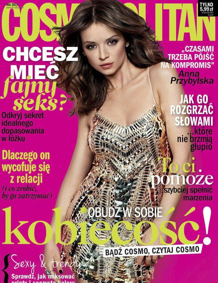 COSMOPOLITAN edycja polska / Anna Przybylska / maj 2013    www.cosmopolitan.pl