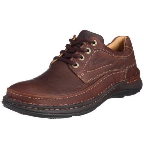 Oferta: 131.1€ Dto: -52%. Comprar Ofertas de Clarks Nature Three 20339005 - Zapatos casual de cuero nobuck para hombre, color marrón (Mahogany Leather), talla 44.5 barato. ¡Mira las ofertas!