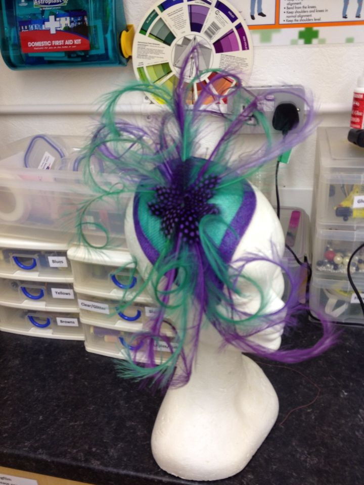 Two coloured headpiece
