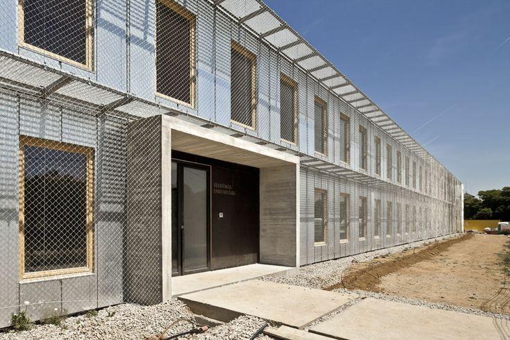 57 Viviendas Universitarias en el Campus de la ETSAV, en Barcelona - ARQA