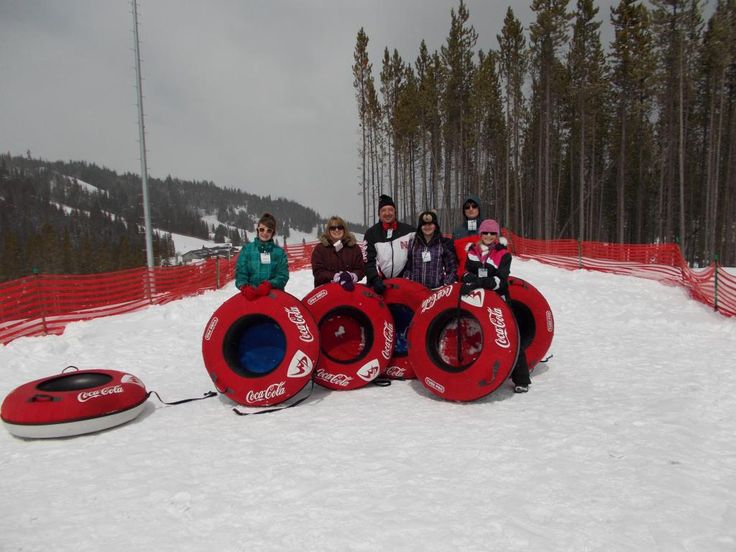 Include some snow tubing in your next family ski trip. Snow Tubing at Winter Park