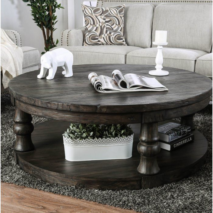 Amstel Floor Shelf Coffee Table With Storage With Images