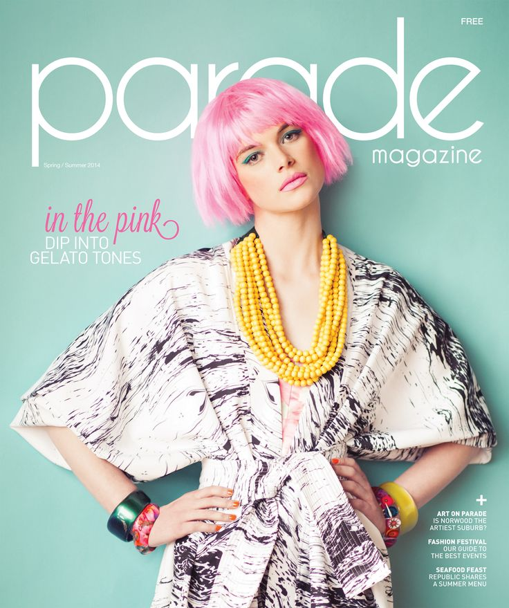 PARADE Magazine | Spring/Summer 2014 issue cover
