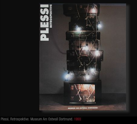 Atlas of selected images from all the artistic production by Fabrizio Plessi: Plessi Catalogue