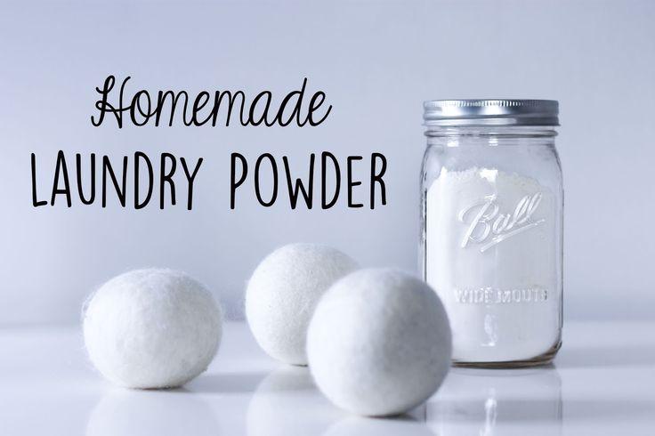 Zero Waste Nerd: Homemade Laundry Powder