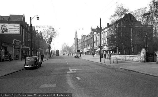 Ealing, The Broadway 1957, from Francis Frith