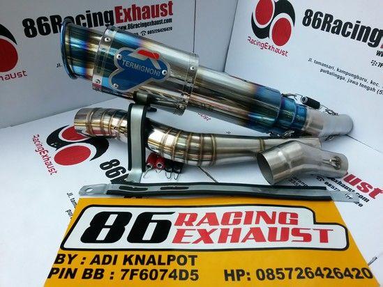 Knalpot Termignoni Rossi  Half Blue | 86 Racing Exhaust