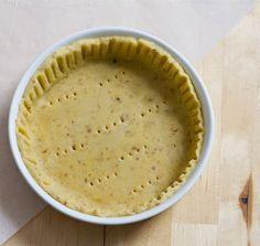 Pâte à tarte sans gluten et sans lactose