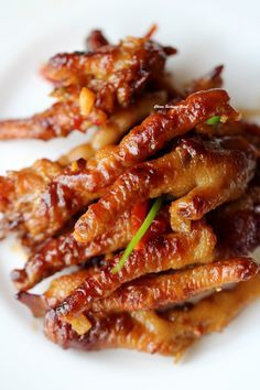 TIGER SKIN CHICKEN FEET aka PHOENIX CLAWS aka CANTONESE CHICKEN FEET aka  ~~~ recipe gateway: this post's link + http://nourishedkitchen.com/chicken-feet-stock/ + http://www.seriouseats.com/recipes/2009/08/cantonese-chicken-feet-jalapenos-black-bean-sauce-dim-sum-recipe.html + http://julesfood.blogspot.com/2012/09/chicken-pawsshort-cut-to-dim-sum-style.html and http://archives.starbulletin.com/1998/11/11/features/request.html  [China, Guangzhou aka Canton] [chinasichuanfood]