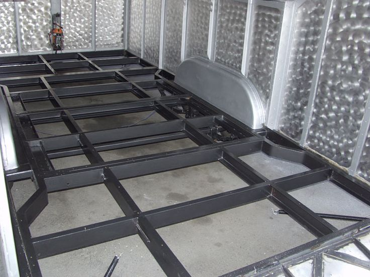 Enclosed Trailer Frame | Enclosed trailers, Box trailer ...