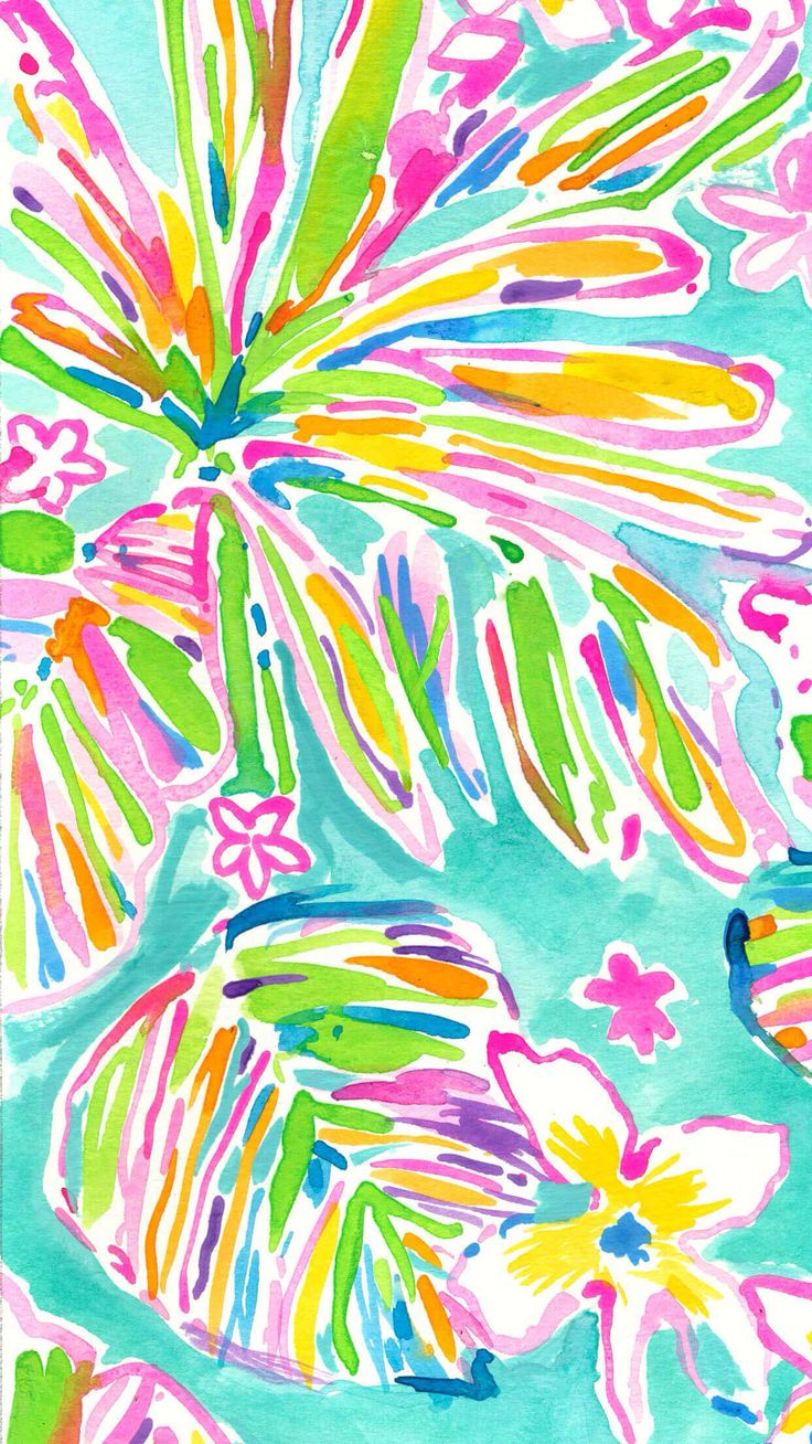 Let There Be Silence While This Lilly Pulitzer Print Does