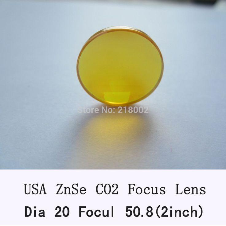 USA CVD ZnSe Focus Lens 20mm Dia 50.8mm Focal for CO2 Laser co2 laser engrave machine co2 laser cutting machine
