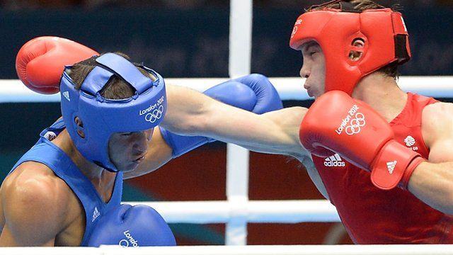 Fred Evans's bid to become the first Welshman to win Olympic boxing gold ended when he ran into a better welterweight in Serik Sapiyev.  The Kazakh boxer was simply too good for the 21-year-old from Cardiff, winning the gold-medal contest 17-9.  But Evans's silver medal makes him the most successful Welsh Olympic boxer, beating Ralph Evans's bronze in 1972.