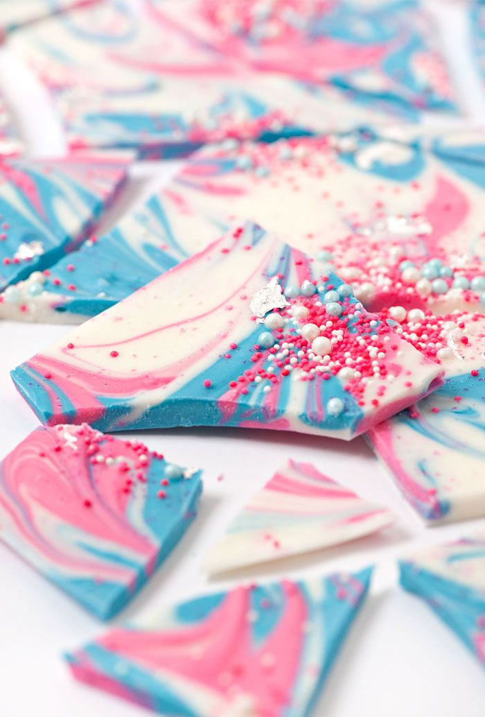 Sprinkle and Swirl Bark | Sprinkles for Breakfast