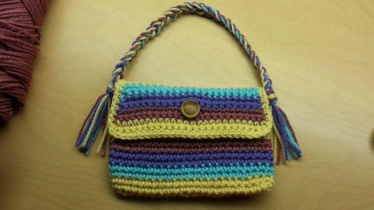 #Crochet purse handbag TUTORIAL