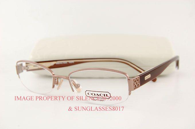coach eyeglasses frames for women | Brand New Coach Eyeglasses Frames 1024 Maeve Brown 50 |
