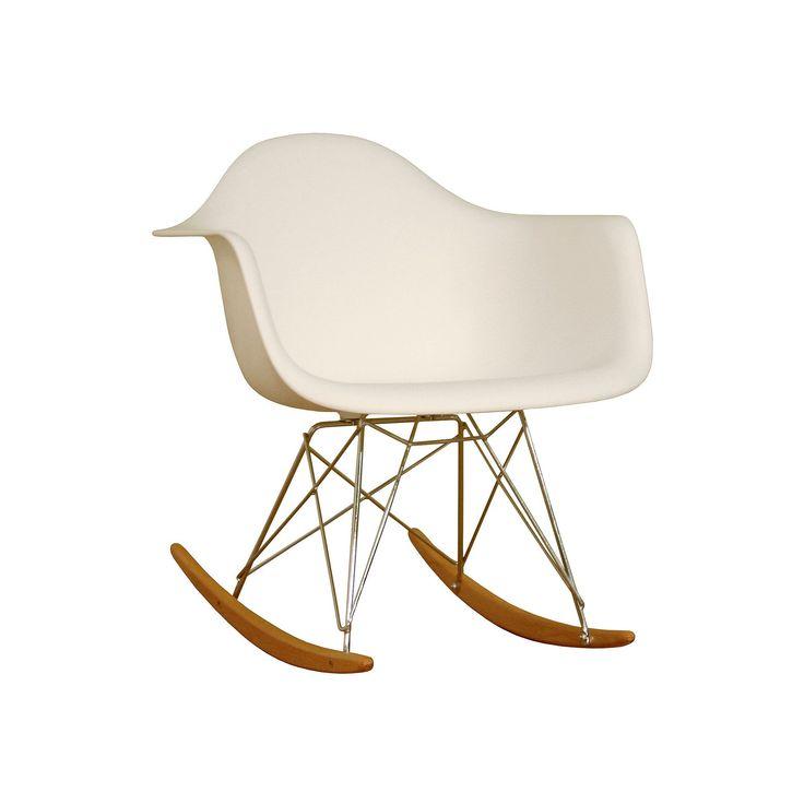 baxton studio rocking chair white baxton studio rocking chair white ...